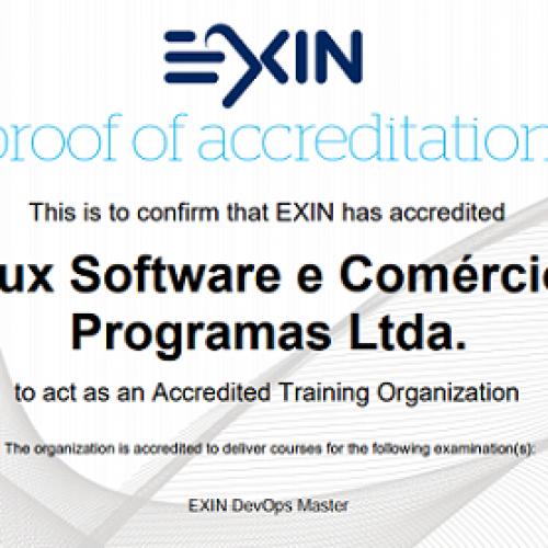 4Linux lança curso preparatório para a certificação DEVOPS Master e faz parceria com a EXIN