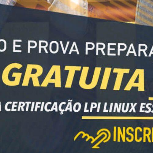    Certificação LPI Linux Essentials faça na 4linux o curso e prova preparatória GRATUITAMENTE.