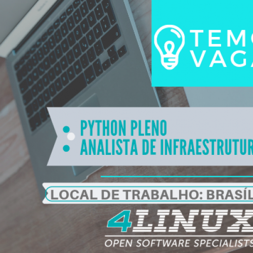 Temos Vagas em Brasília/DF – 4Linux