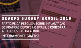 DevOps Survey Brazil 2019