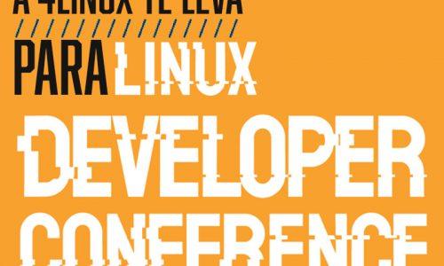 A 4Linux te leva para Linux Developer Conference Brasil 2019.