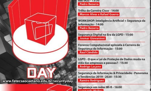 4Linux participará do 8º Security Day promovido pela Fatec Antonio Russo