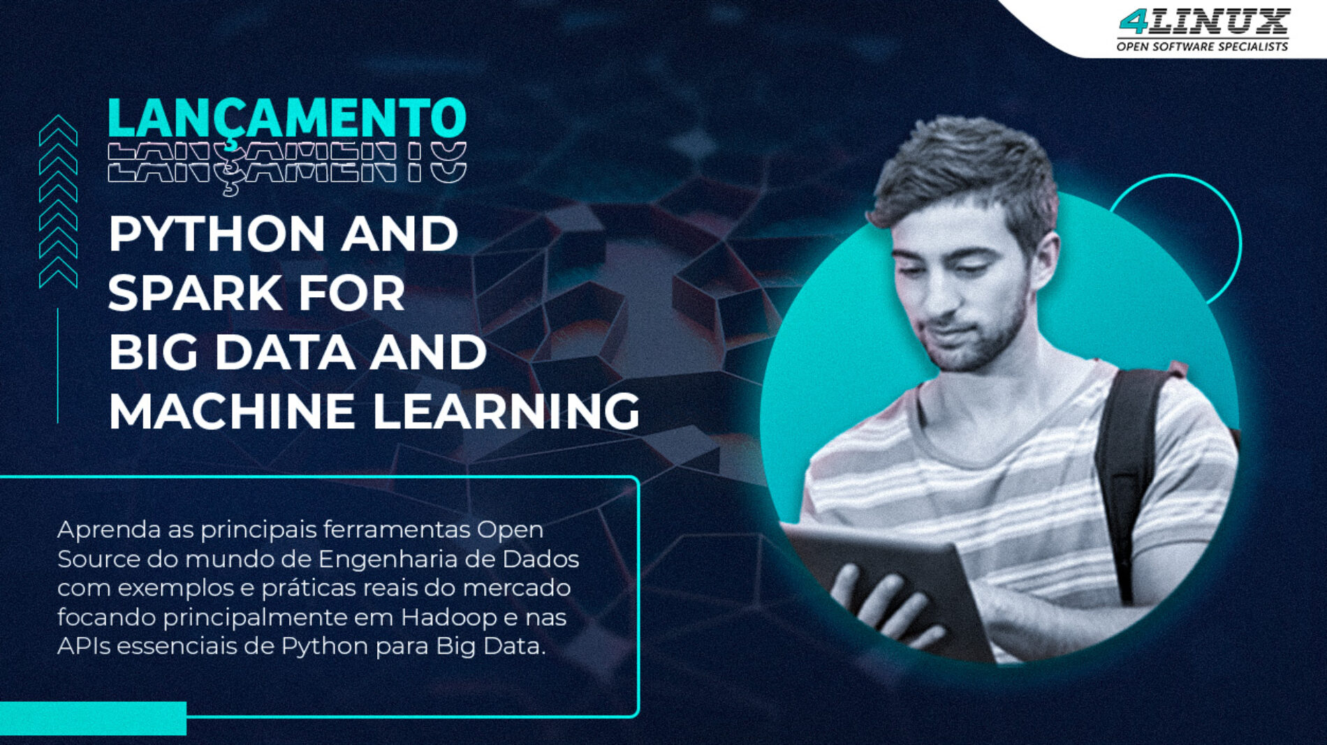 "4Linux atualiza seu curso ""Python and Spark for Big Data e Machine Learning"""