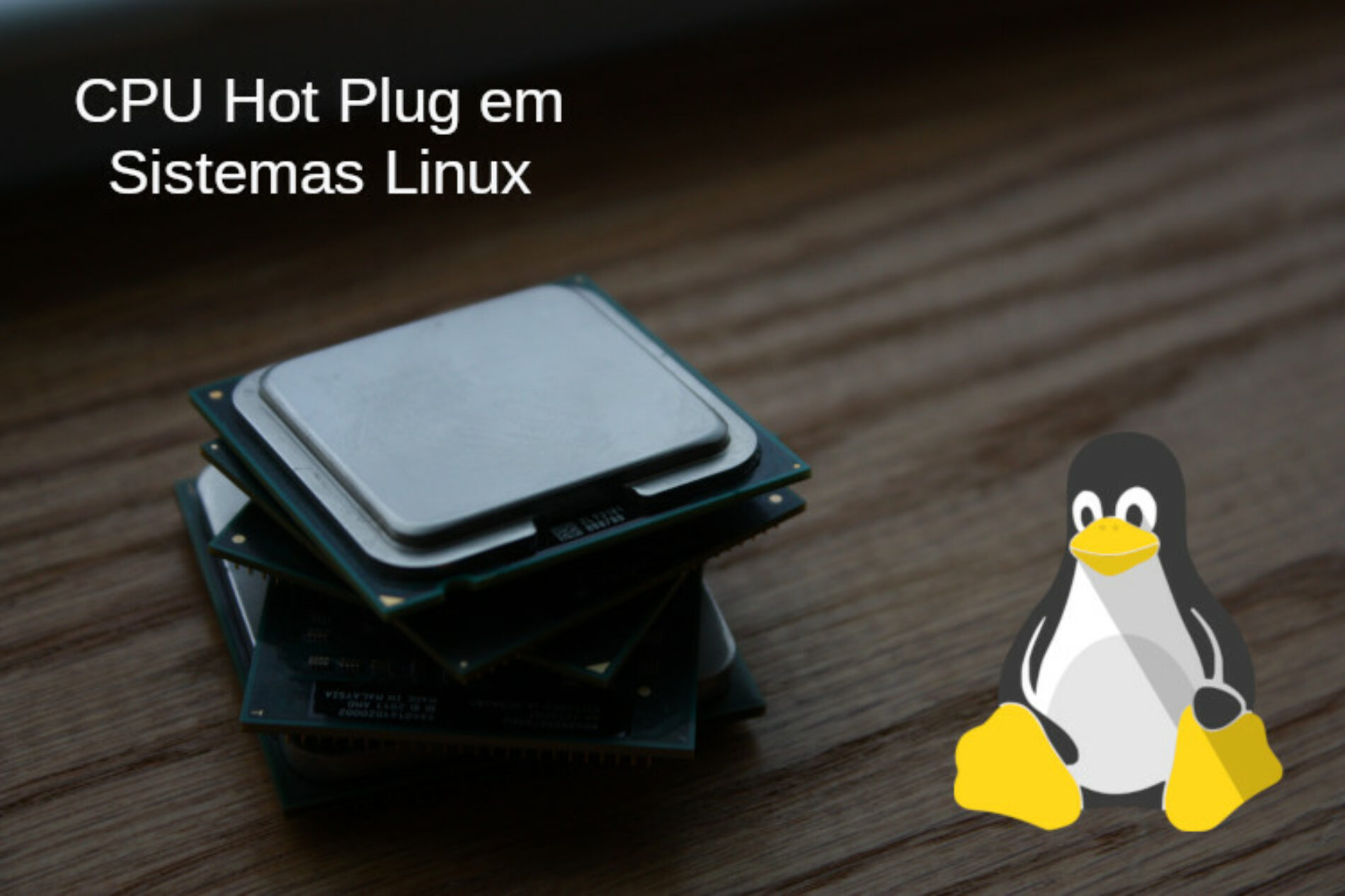 CPU Hot-Plug em Servidores Linux