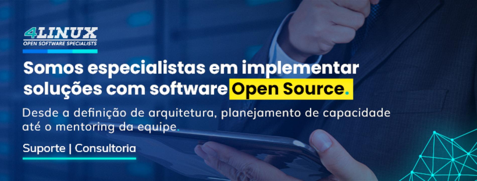 Consultoria e Suporte em TI – Conheça os Serviços da 4Linux!