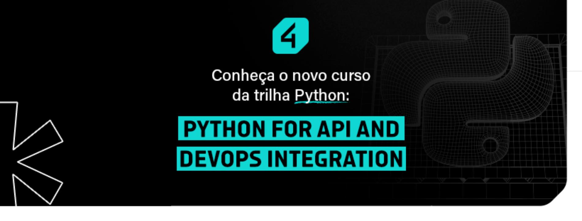 Novo curso na trilha de Python!