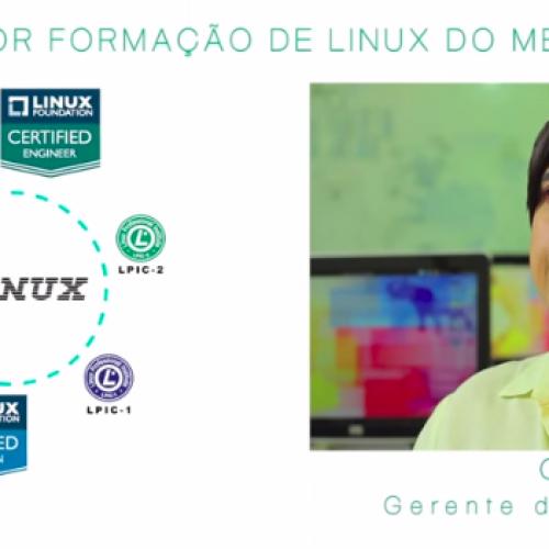 Formação Linux é na 4Linux