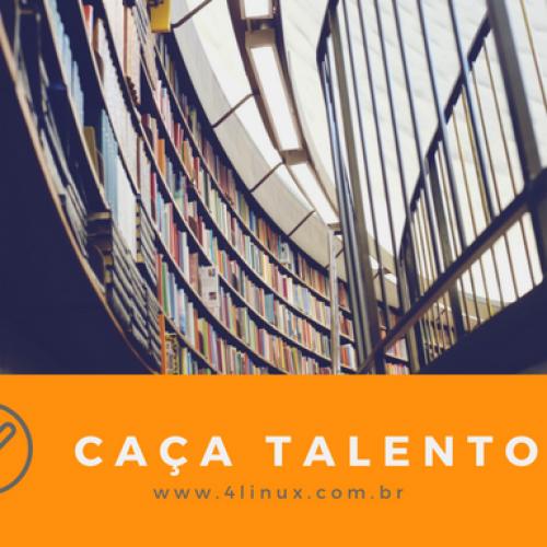 Caça Talentos – A 4Linux selecionará 10 alunos para realizarem gratuitamente cursos de Python.