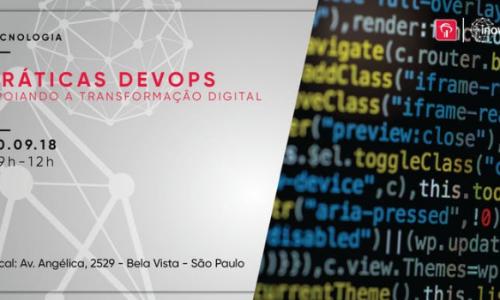 """Workshop """"Práticas DevOps apoiando a transformação digital"""""""