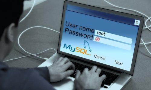 Como restaurar a senha de root do MySQL